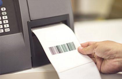 הדפסת מדבקות דרך קופה רושמת ממוחשבת